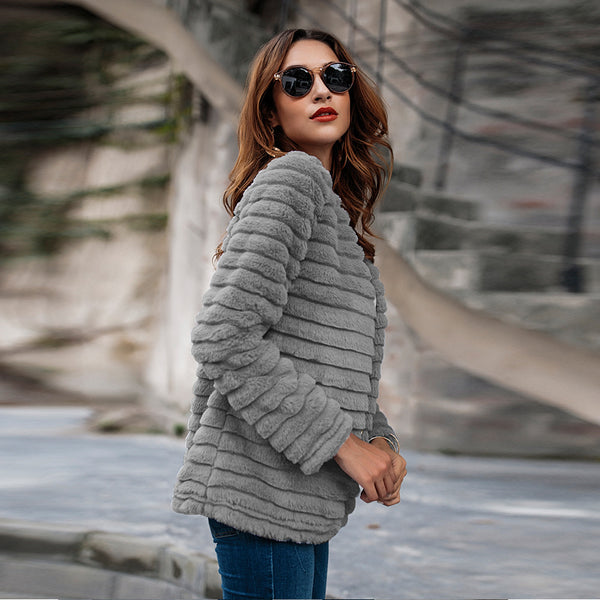 Super Quality Faux Fur Coat
