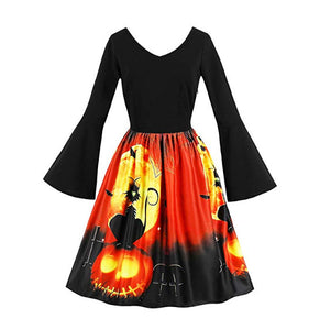 Halloween Party Elegant Dress