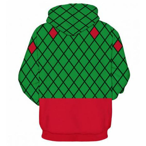 Christmas 3D Printed Sweater Large Size Hoodie