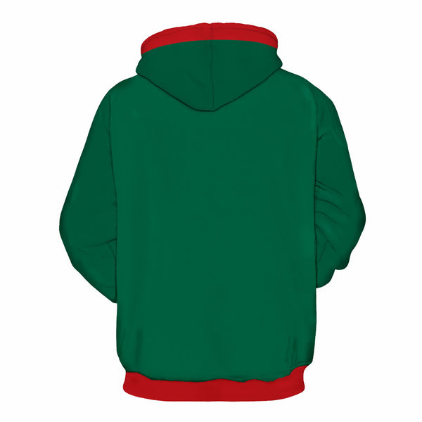 Funny Ugly Christmas Sweater Long Sleeve Hoodie Sweatshirt Jacket For Men Women