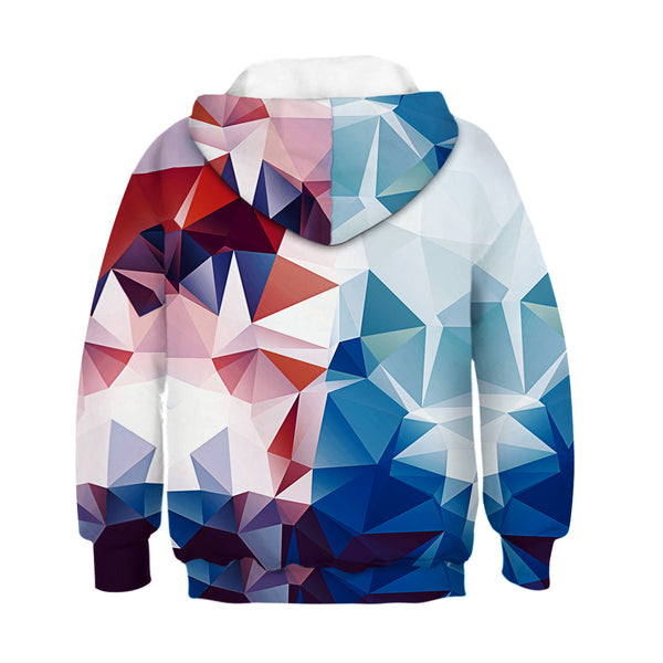 Children's Color Prismatic Print Hoodie
