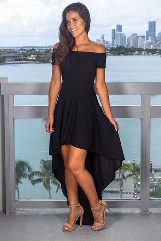 Sexy Halter Off-Shoulder Irregular Dress