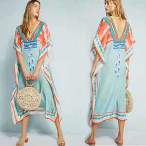 Long Loose Beach Maxi Dress Swimsuit Cover Up