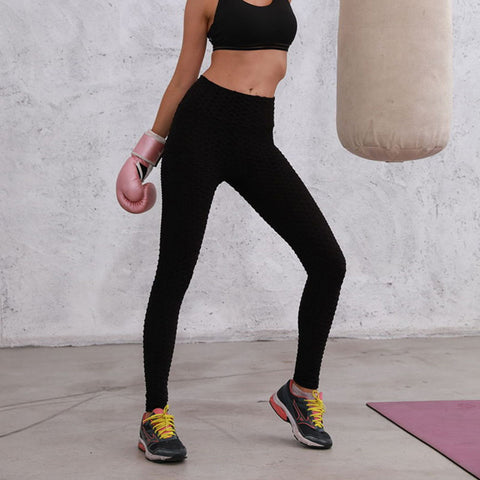 High Waist  Chic Sports Stretchy Leggings