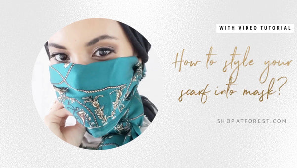 How To Use A Scarf As Your Mask For COVID-19