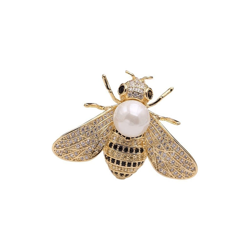 Cicada Brooches Forest 18k real gold plated