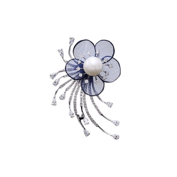 Floral Passion Brooches Forest Platinum plated