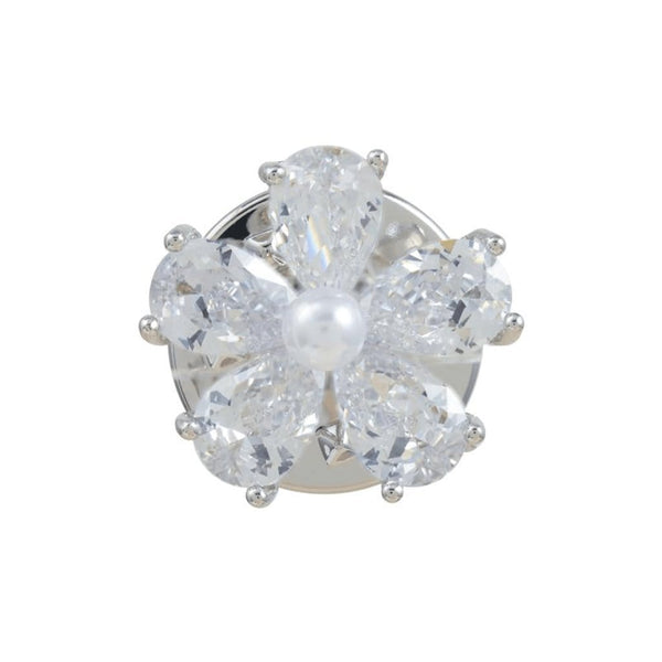 Refined Bloom Brooches Forest Platinum plated