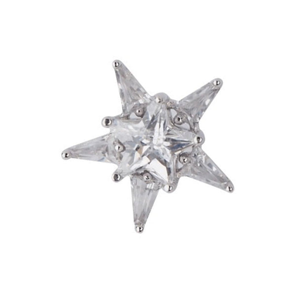 Starshine Brooches Forest Platinum plated