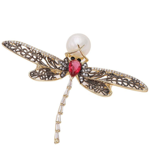 Lila Dragonfly Brooches Shop At Forest gold