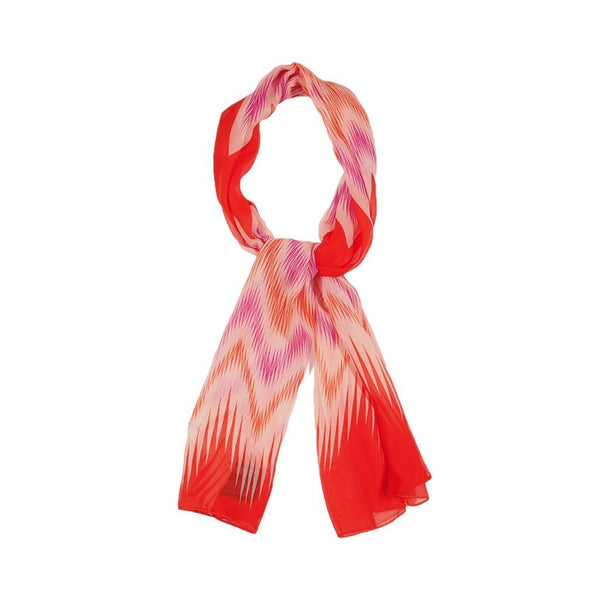 Retro Imprint Scarves Forest Orange Retro Imprint