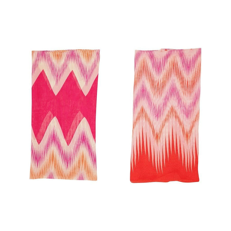 Retro Imprint Scarves Forest