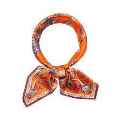 Balinese Delight Scarves Forest Orange Balinese Delight