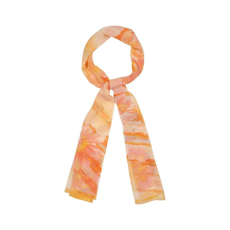 Citrus Cirrus Scarves Forest Orange Citrus Cirrus