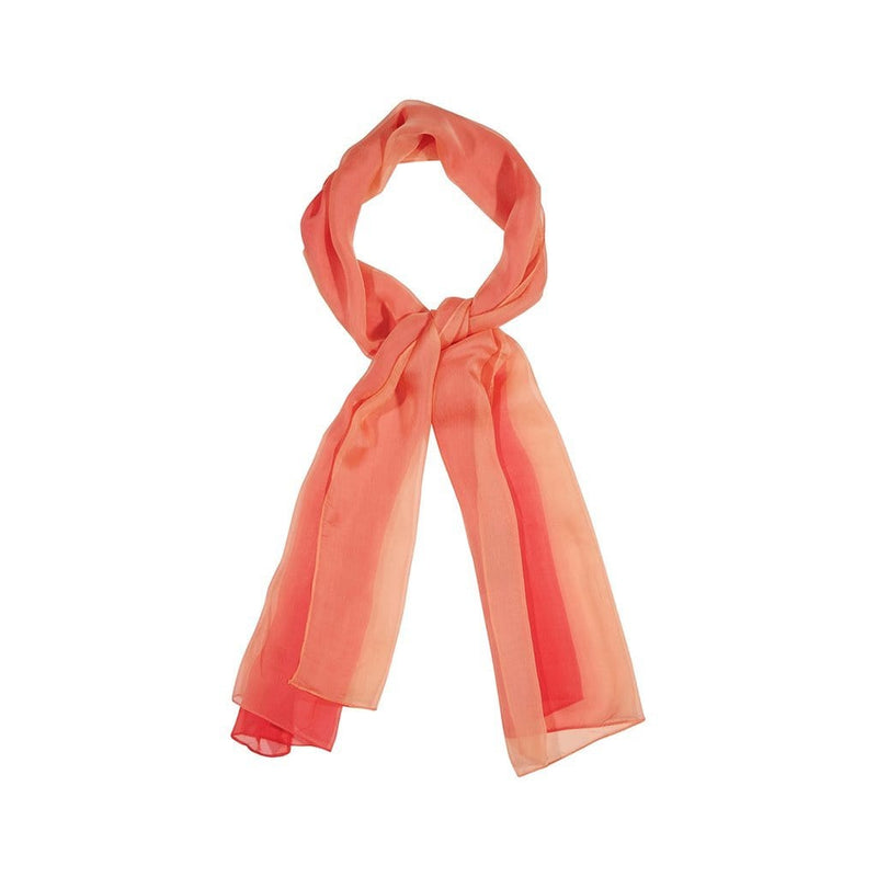 Gradient Tone Scarves Forest Orange Gradient Tone
