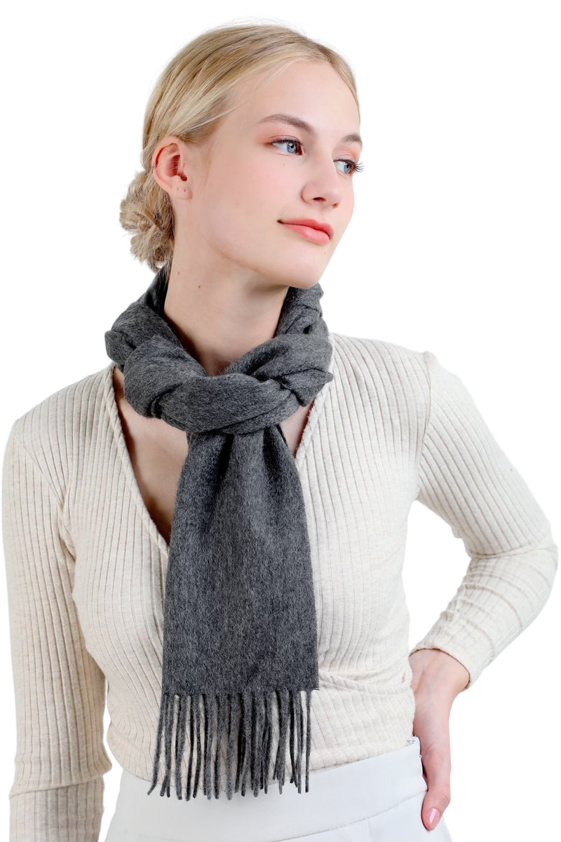 Chic - dark grey Scarves Forest