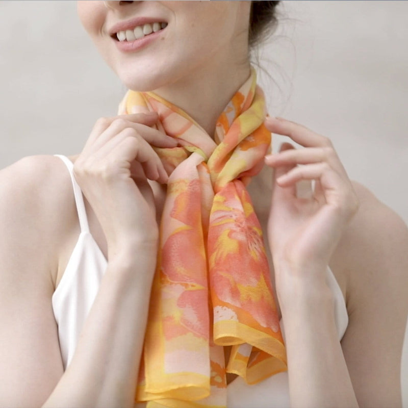 Citrus Cirrus Scarves Forest
