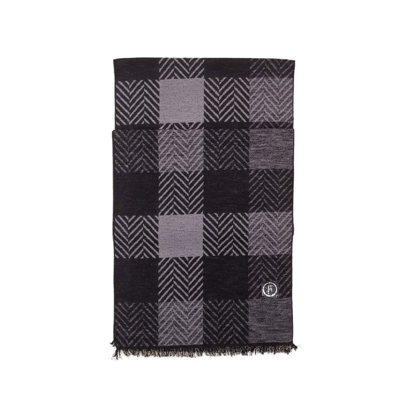 Horowitz Scarves Forest Dark Grey