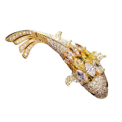 Lucky Koi Accessories Shop At Forest 18k yellow Gold plated