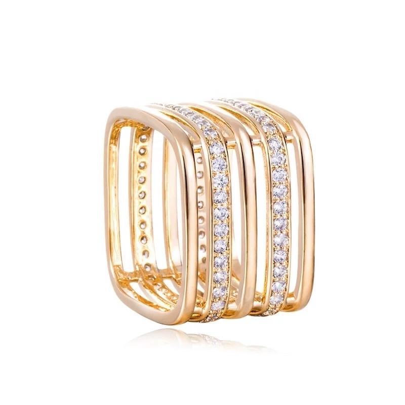 Quadrangle Shop At Forest 19k yellow gold plated