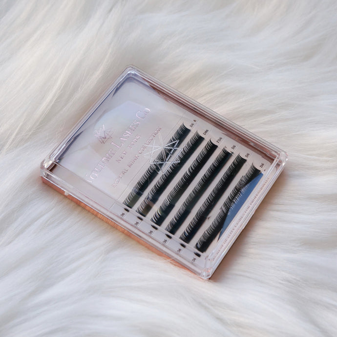MINI 0.10mm Classic/Volume Lashes: B, C, D Curls