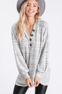 Wrapped Up in You Tunic Top