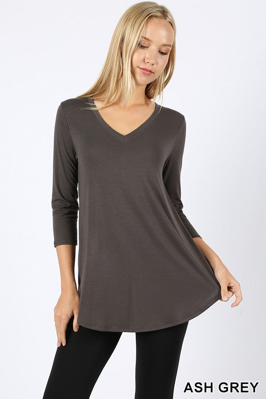 Maxine V-neck Top *FINAL SALE*