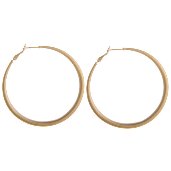 Carole Hoop Earrings