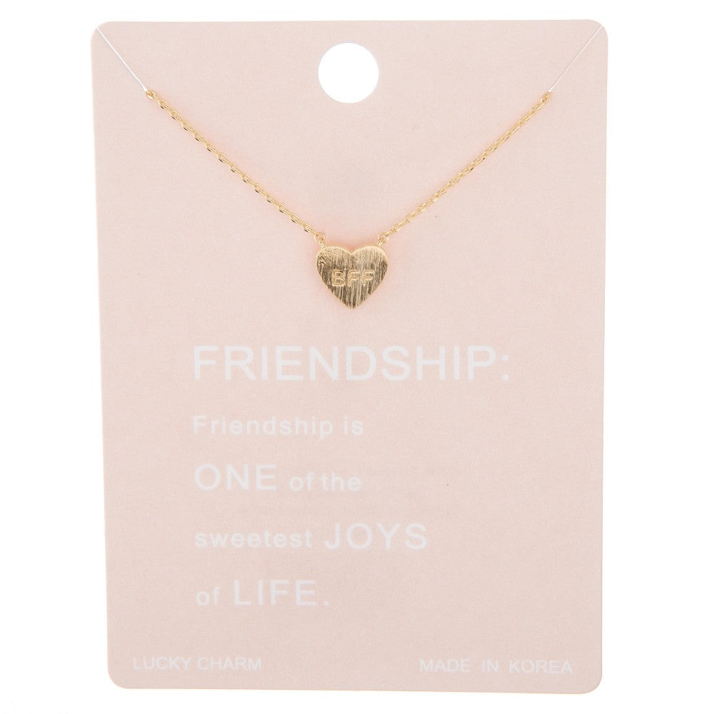 Dainty Line BFF Necklace