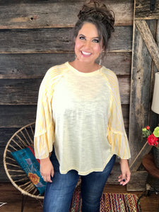 Banana Split Top **FINAL SALE**