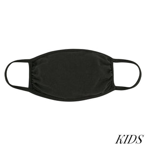 Mask - KIDS Solid Dark Green