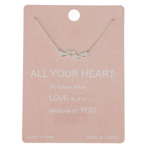 Dainty Line All Your Love Necklace