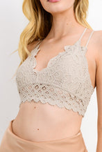Load image into Gallery viewer, Fancy + Strappy Lace Bralette