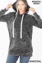 Load image into Gallery viewer, Movie Night Mineral Wash Hoodie