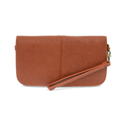 JOY Mia Multi Pocket Crossbody Clutch