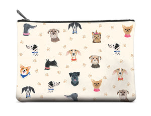 Doggie Large Zip Pouch