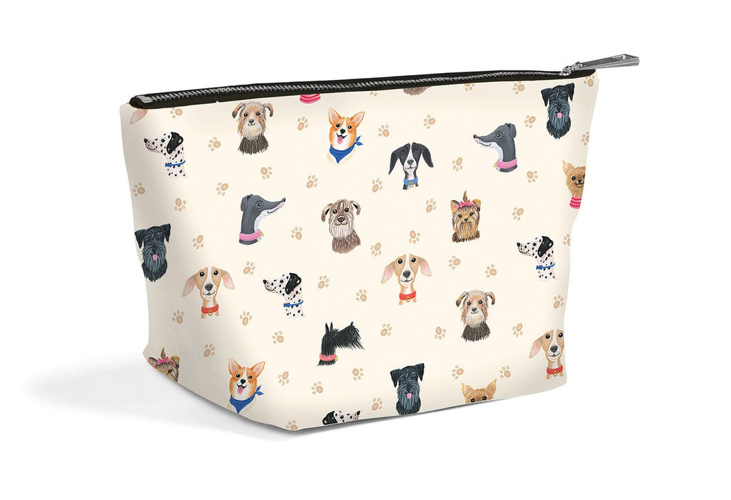 Doggie Cosmetic Zip Pouch