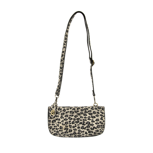 JOY - Leopard Mini Wristlet Clutch Crossbody