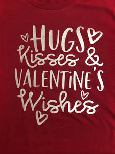 Valentine's Wishes LS Tee