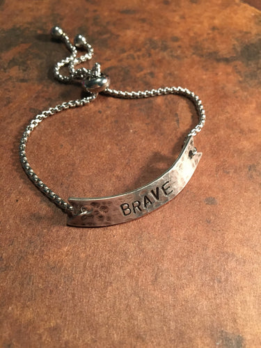 "Studio K ""Brave in the Attempt "" Bracelet"