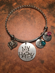 "Studio K Custom ""My Happy"" Bangle"