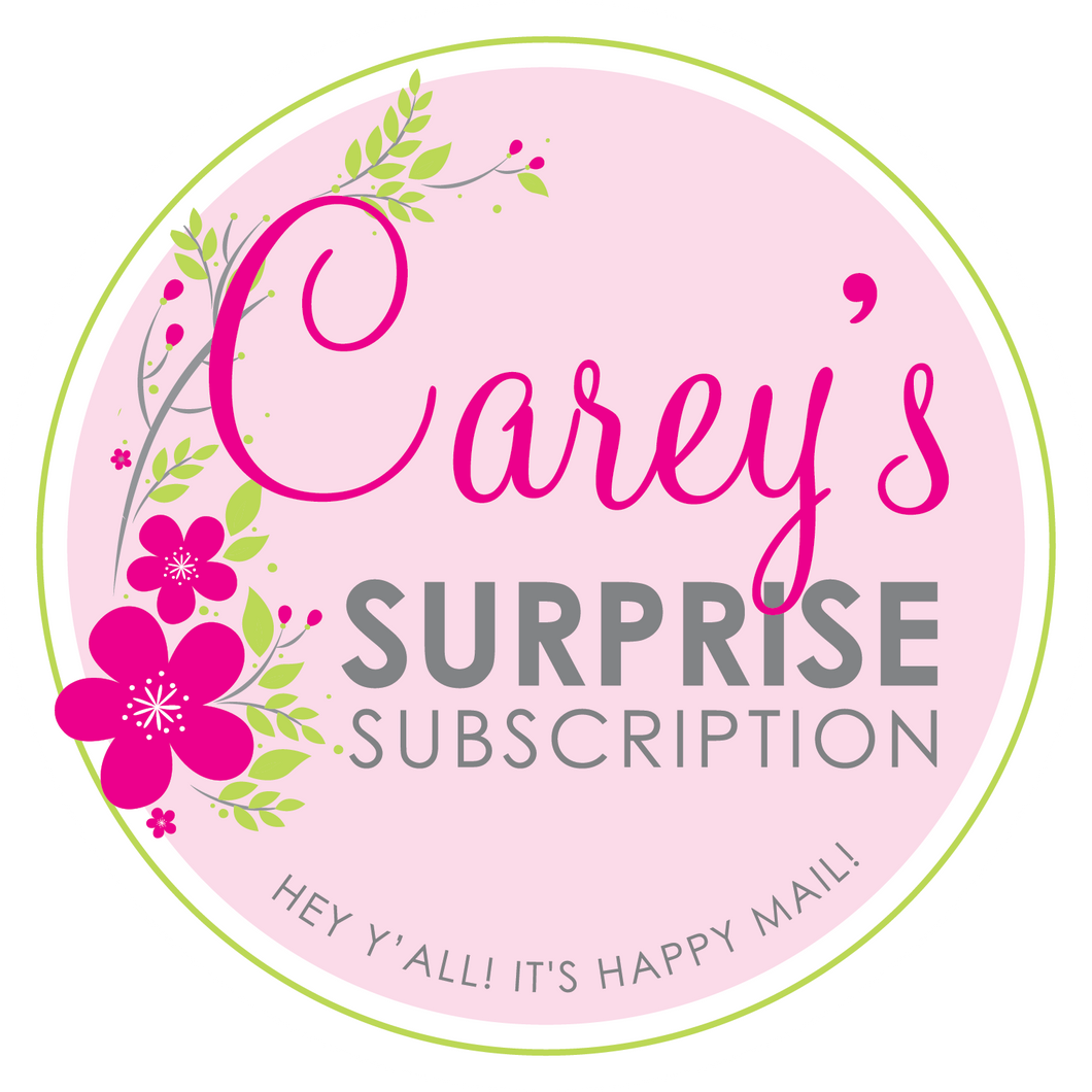 Carey's Surprise Subscription