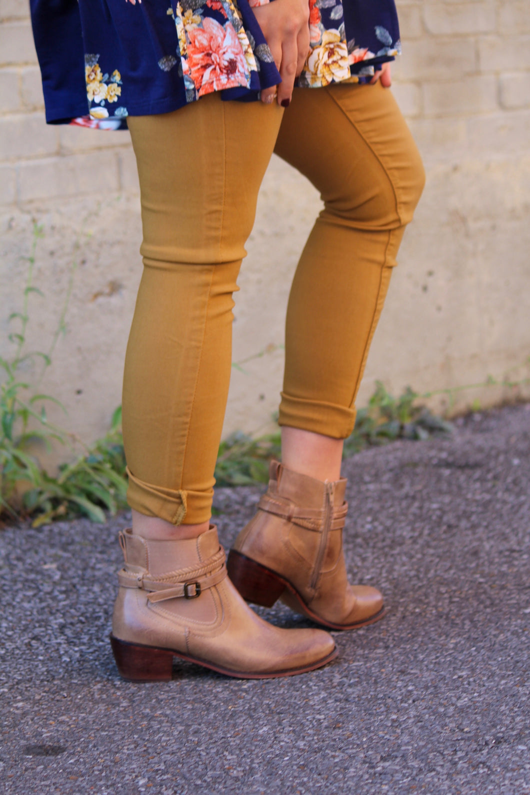 YMI Jeggings- Mustard