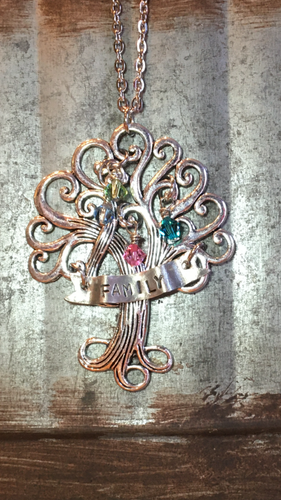 Studio K Family Tree Custom Necklace