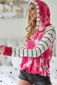 Jaded Striped Hoodie