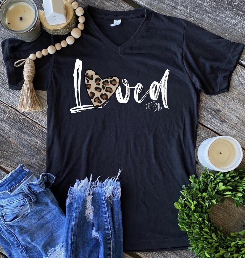 Loved Graphic Tee