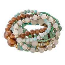 Load image into Gallery viewer, Mint To Be Yours Bracelet Stack