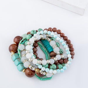 Mint To Be Yours Bracelet Stack