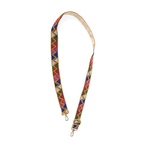 "JOY Guitar Strap 1.25"" Multi Aztec"