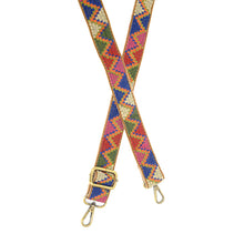 "Load image into Gallery viewer, JOY Guitar Strap 1.25"" Multi Aztec"